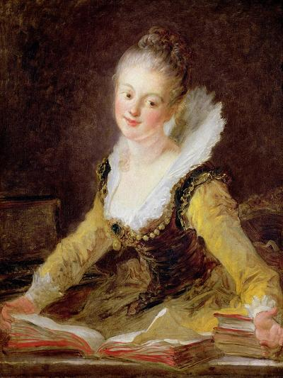 The Study, or the Song, circa 1769-Jean-Honor? Fragonard-Giclee Print