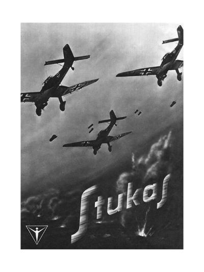 The Stuka Advertised--Giclee Print