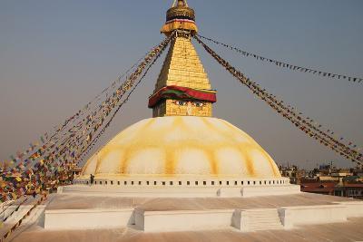 The Stupa at Bodhnath, Kathmandu, Nepal-Design Pics Inc-Photographic Print