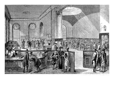 The Subscription Room at Lloyd's of London, 18th Century--Giclee Print
