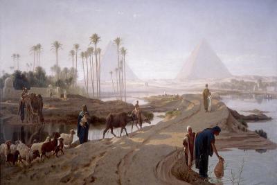 The Subsiding of the Nile, 1873-Frederick Goodall-Giclee Print
