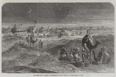 The Suez Canal Works, Toosoomville, Near Timsah, on the Road to Suez--Giclee Print