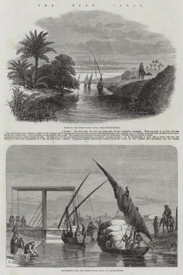 The Suez Canal--Giclee Print