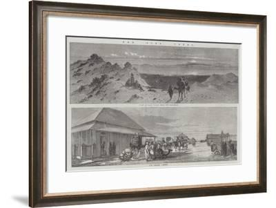 The Suez Canal--Framed Giclee Print