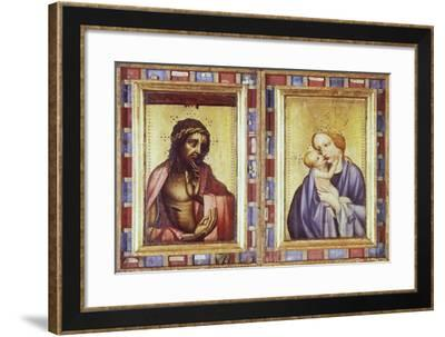 The Suffering of Christ and Mary with Child--Framed Giclee Print