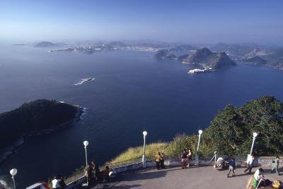 The Sugar Loaf Cable Car (Bondinho Do Pao De Acucar), Rio De Janeiro, Brazil-Alfred Eisenstaedt-Photographic Print
