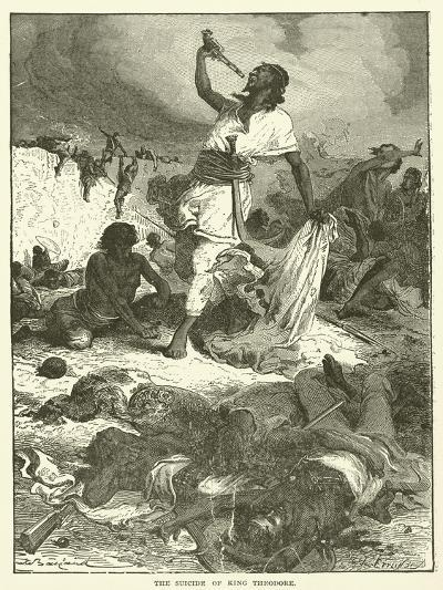 The Suicide of King Theodore--Giclee Print