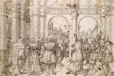 The Suicide of Lucretia, Early 16th Century-Jorg Breu the Elder-Giclee Print