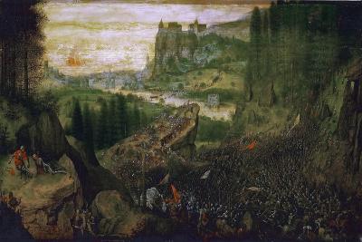 The Suicide of Saul, 1562-Pieter Bruegel the Elder-Giclee Print
