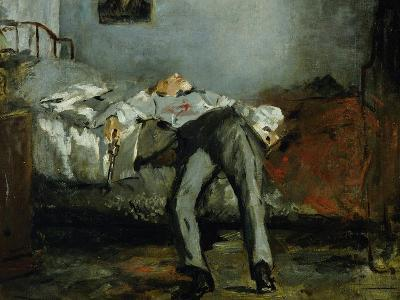 The Suicide-Edouard Manet-Giclee Print