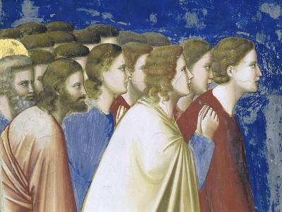 The Suitors' Prayer Before the Rods,, Detail-Giotto di Bondone-Giclee Print