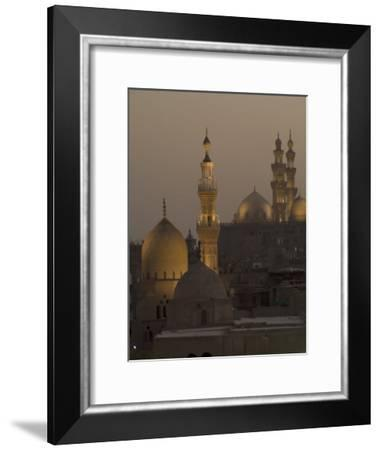 The Sultan Hassan and Rifai Mosques-Richard Nowitz-Framed Photographic Print
