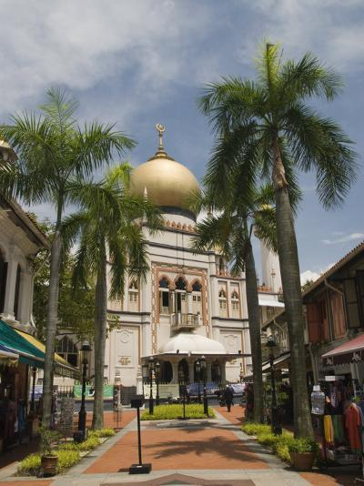 The Sultan Mosque, Little India, Singapore, Southeast Asia, Asia-Richard Maschmeyer-Photographic Print