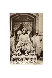 The Sultan of Foumban on His Throne, Cameroon, c.1910