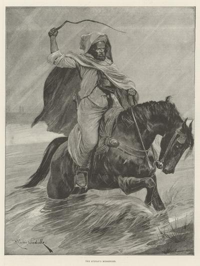 The Sultan's Messenger-Richard Caton Woodville II-Giclee Print
