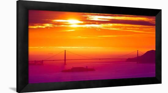 The Sun Gate-Greg Linhares-Framed Photographic Print