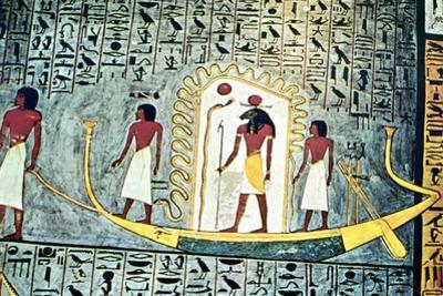 The Sun God Ra, Boat Scene