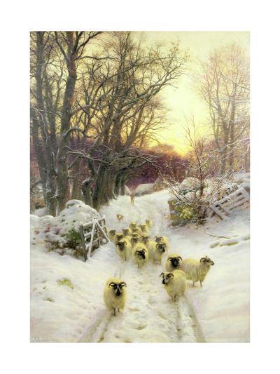 The Sun Had Closed the Winter's Day-Joseph Farquharson-Giclee Print