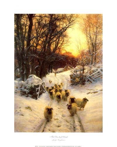 The Sun Had Closed-Joseph Farquharson-Art Print