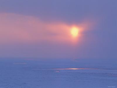The Sun Over the Sea--Photographic Print