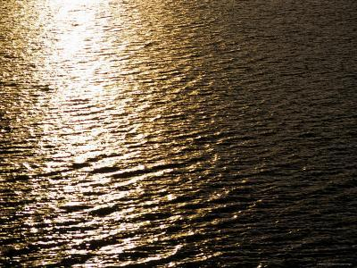 The Sun Reflects Off Rippling Water, Alaska-Stacy Gold-Photographic Print