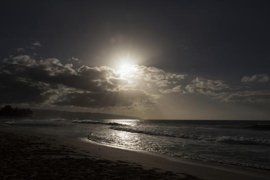 The Sun Sets as the Tide Rolls In-Deanne Fitzmaurice-Photographic Print
