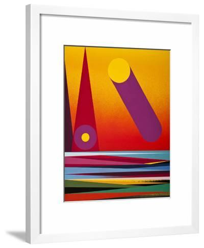 The Sun-Mark Warren Jacques-Framed Art Print
