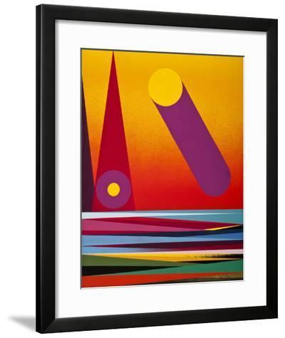 The Sun-Mark Warren Jacques-Framed Art Print