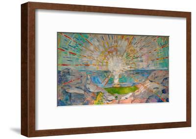 The Sun-Edvard Munch-Framed Giclee Print