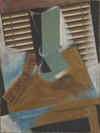 The Sunblind-Juan Gris-Giclee Print