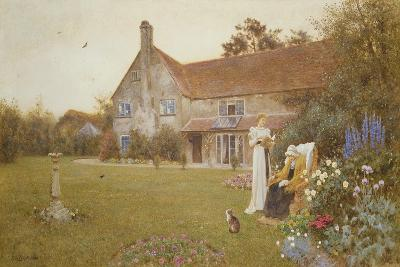 The Sundial, 1898-Thomas James Lloyd-Giclee Print