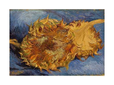 The Sunflowers, 1887-Vincent van Gogh-Giclee Print
