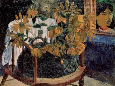 The Sunflowers, 1901-Paul Gauguin-Giclee Print