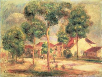 The Sunny Road, C.1895-Pierre-Auguste Renoir-Giclee Print