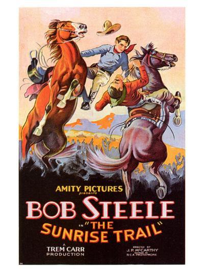 The Sunrise Trail, 1931--Art Print