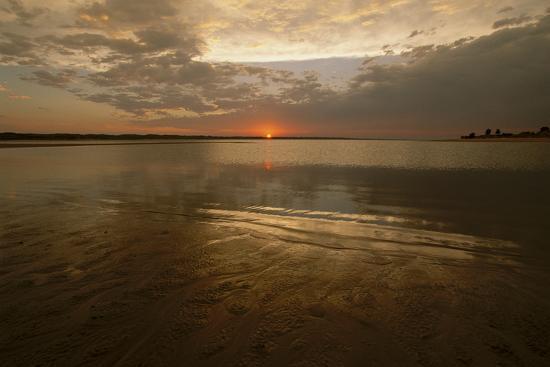 The Sunsets over Calamus Reservoir-Michael Forsberg-Photographic Print