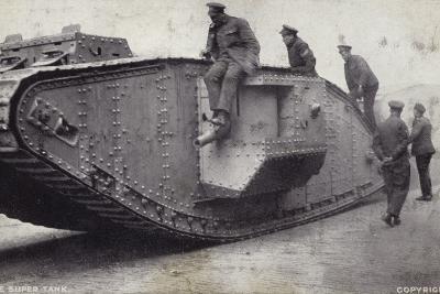 The Super Tank--Photographic Print