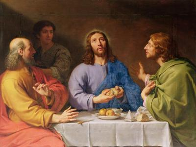 The Supper at Emmaus-Philippe De Champaigne-Giclee Print