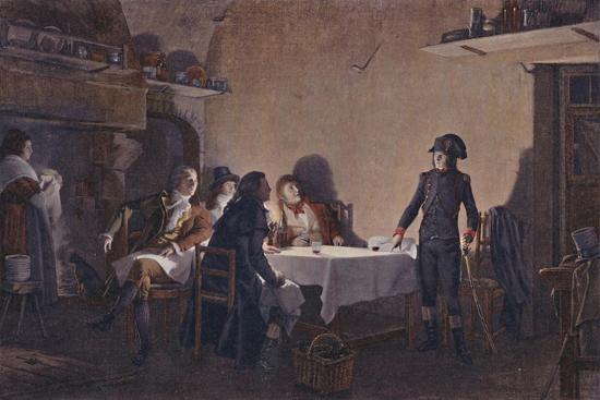 'The Supper of Beaucaire', 1793, (1896)-Unknown-Giclee Print