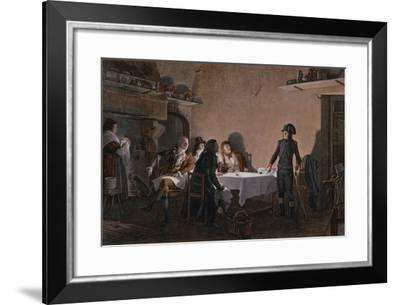 The Supper of Beaucaire--Framed Giclee Print