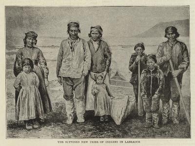 The Supposed New Tribe of Indians in Labrador--Giclee Print