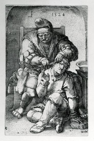 The Surgeon, 1524-Lucas van Leyden-Giclee Print