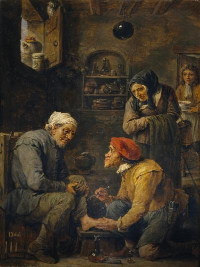 The Surgeon, 1630-1640-David Teniers the Younger-Giclee Print