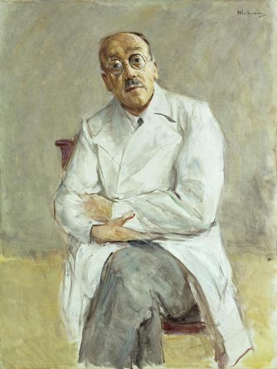 The Surgeon, Ferdinand Sauerbruch, 1932-Max Liebermann-Giclee Print