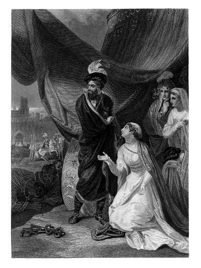 The Surrender of Calais-JC Armytage-Giclee Print