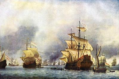 The Surrender of the Prince Royal'. C1650-1700-Willem Van De Velde The Younger-Giclee Print