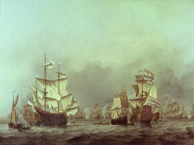 The Surrender of the Royal Prince, 3rd June, 1666-Willem Van De, The Younger Velde-Giclee Print