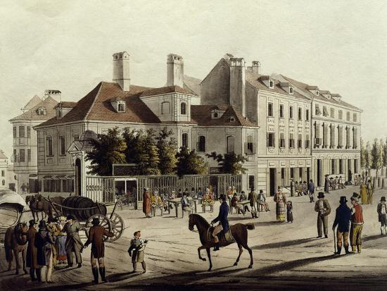 The Surroundings of Leopoldstadt in Vienna, Austria 19th Century--Giclee Print