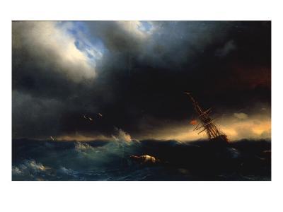 The Survivor, 1853-Ivan Konstantinovich Aivazovsky-Giclee Print
