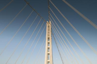 The Suspension Bridge Replacement of the Bay Bridge Eastern Span of the San Francisco Bay Bridge-Jeff Mauritzen-Photographic Print